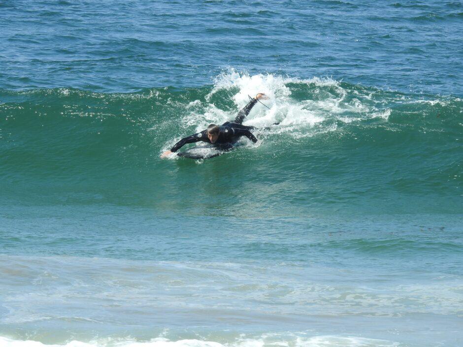 サーフィン「テイクオフ」