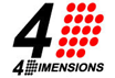 4dimensionsロゴ