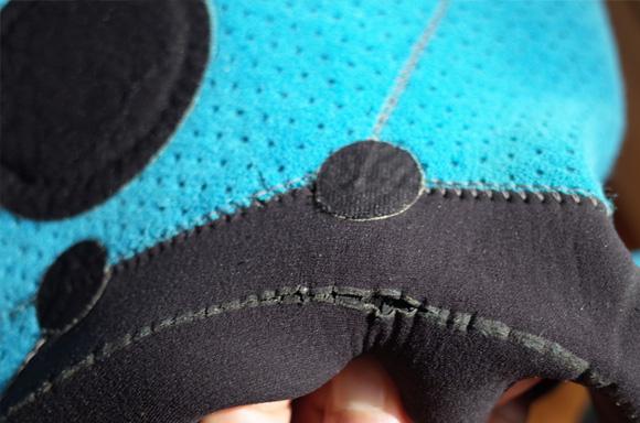ウェットスーツのリペア-裏側の劣化