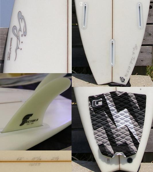 SHIOMOTO SURF ショートボード bno9629006c 詳細2