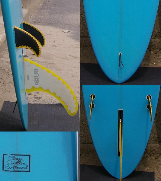 CLASSIC COASTLINE ロングボード フィン・テール bno9629022c