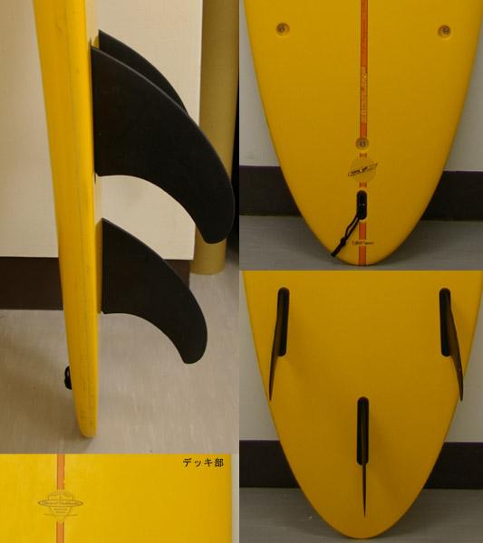 BICSURF ファンボード フィン・テール bno9629036c