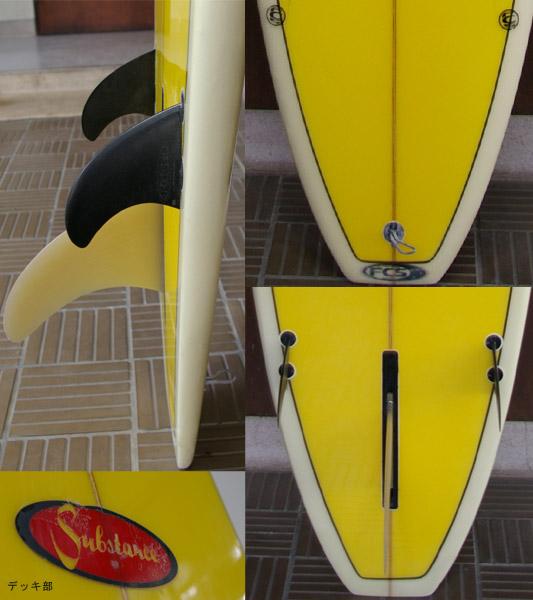 Substance Surf ファンボード テール・ボトム bno9629040c