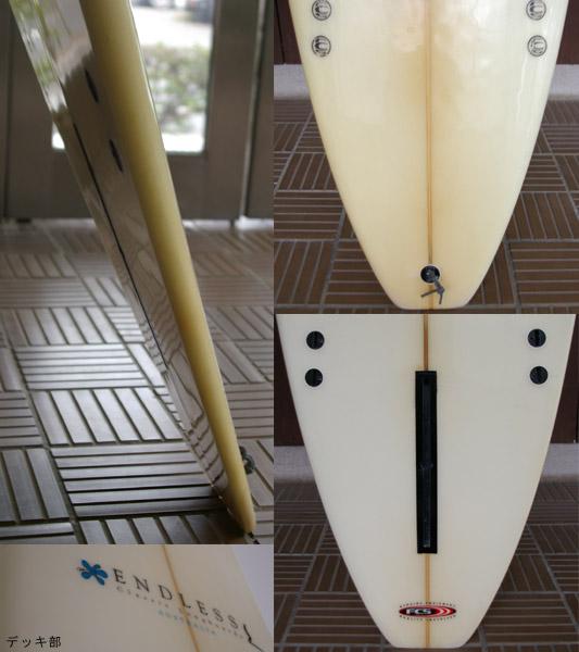 ENDLESS 9.4f ロングボード テール・フィン bno9629043c