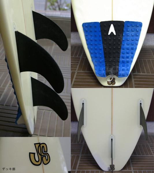JS (JUNJI SONODA) ショートボード フィン・テール bno9629050c
