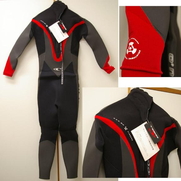 オニール ウェットスーツ セミドライ リア部 bno9629058b