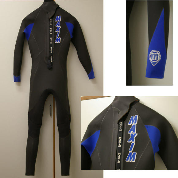 MAXIM/マキシム ウェットスーツ セミドライ リア部 bno9629059b