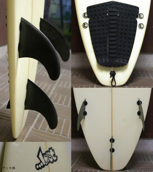 LOST ショートボード フィン・テール bno9629065c