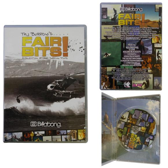 ビラボンサーフムービー フェアビッツ! DVD bno9629067a