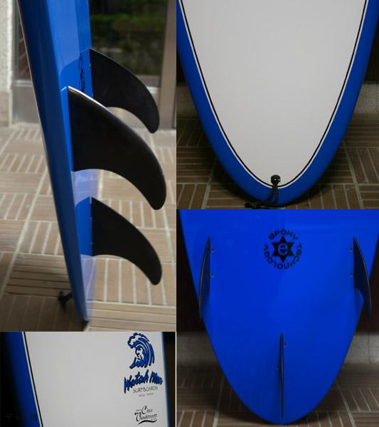 WATAH MON ファンボード フィン テール bno9629080c