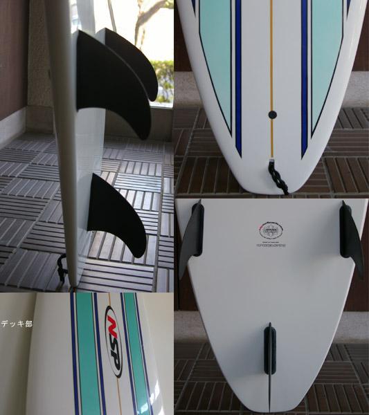 NSPエポキシ ファンボード フィン・テール bno9629093c