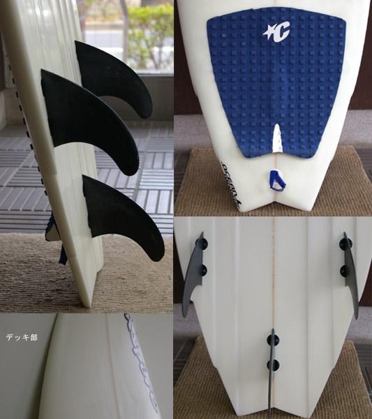 INSPIRE ショートボード フィン・テール bno9629101c