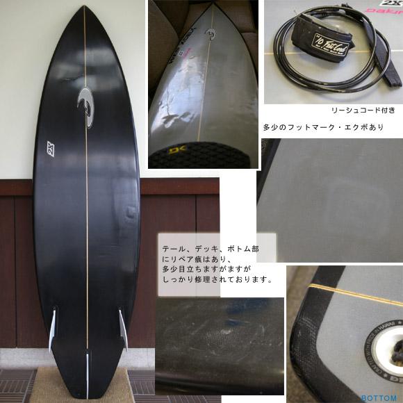 FADE 中古ショートボード bottom bno9629122b