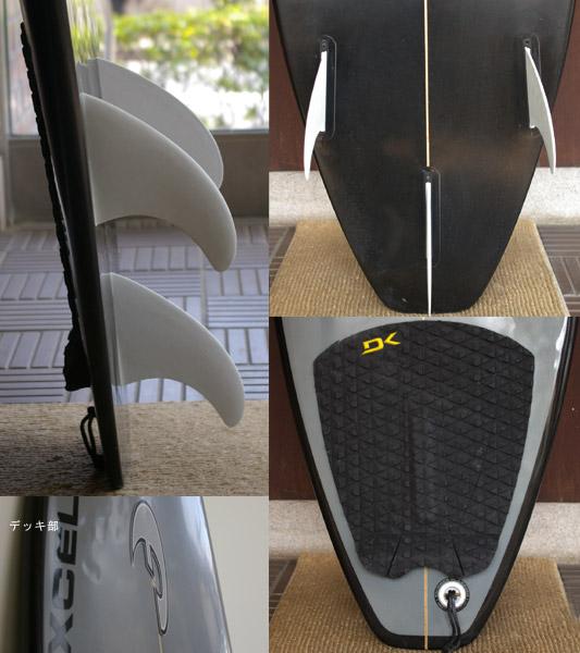 FADE 中古ショートボード fin/tail bno9629122c
