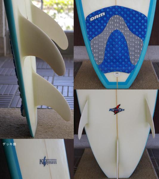 KLYMAXX 中古ショートボード fin/tail bno9629124c