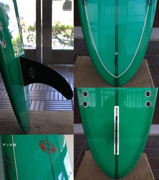 HPD DONALD TAKAYAMA ロングボード fin/tail bno9629127c