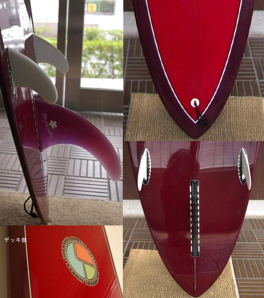 GODDESS 中古  ロングボード fin/tail bno9629132c