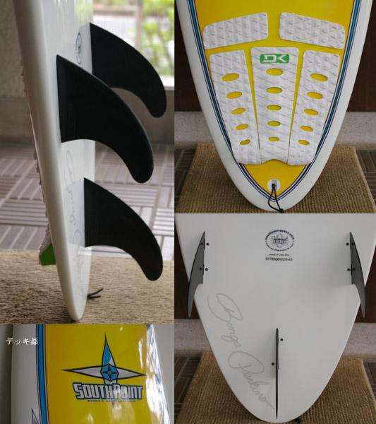 SOUTHPOINT SCHAPER 中古ファンボード fin/tail bno9629133c