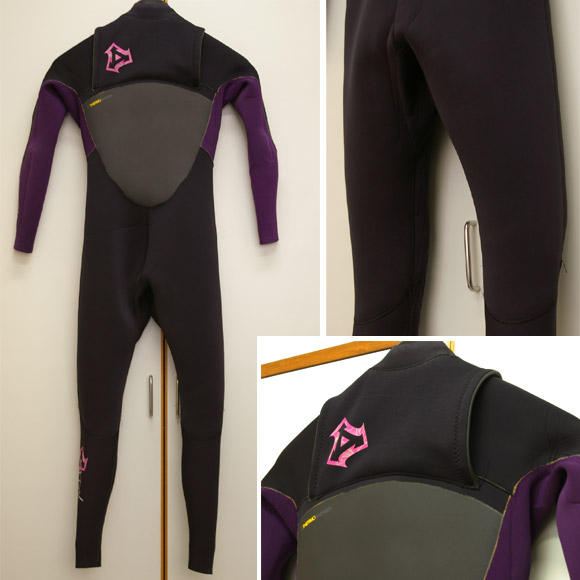 XCEL フル・ウェットスーツ Ladies' リア部 bno9629140b