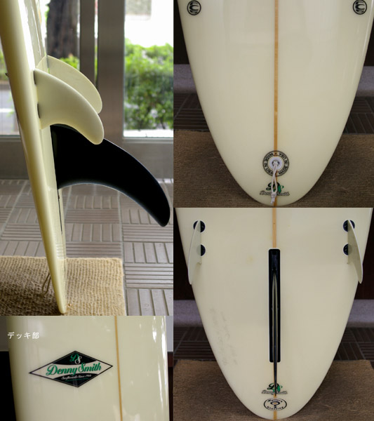 Denny Smith 中古 ロングボード fin/tail bno9629179c