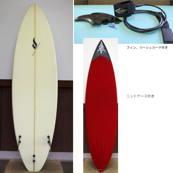 THE SEADREAM 中古ショートボード bottom bno9629180b