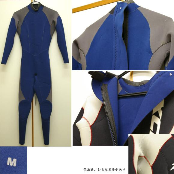 XCEL フルスーツ 中古ウェットスーツ ディテール bno9629184c