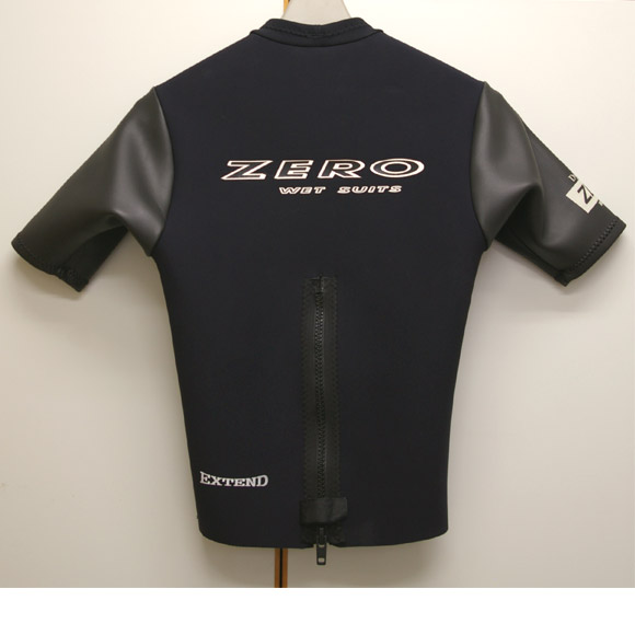 ZERO 半袖タッパー 中古ウェットスーツ リア部 bno9629189b