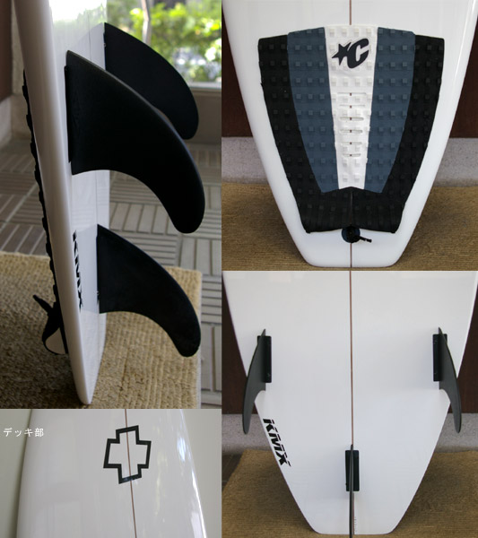 KLYMAXX 中古 ショートボード fin/tail bno9629194c