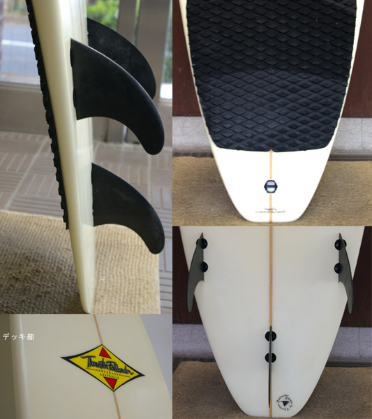 Thornton Fallander 中古ファンボード fin/tail bno9629195c