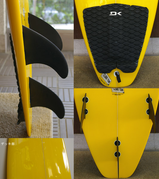 激安 中古ショートボード fin/tail bno9629200c