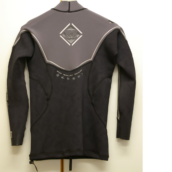 BODY GLOVE 半袖タッパー 中古ウェットスーツ リア部 bno9629204b