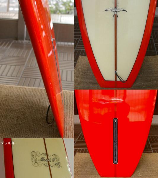 DONALD TAKAYAMA MODEL-T 中古 中古ロングボード fin/tail bno9629213c