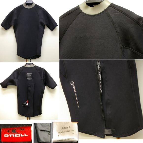 O'NEILL 半袖タッパー 中古ウェットスーツ ディテール bno9629214c