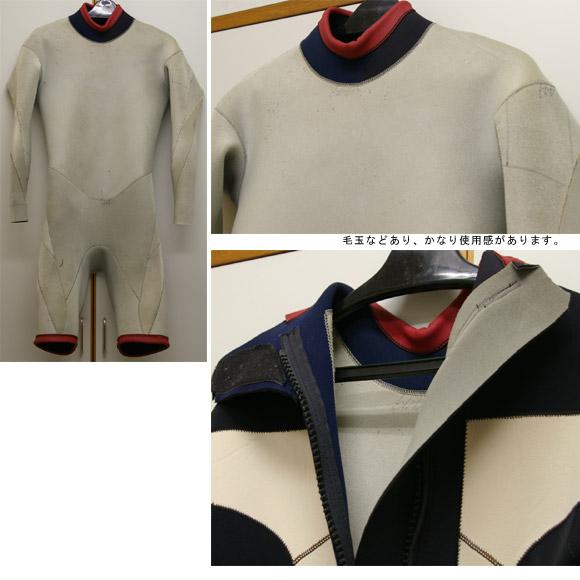 TRANCHE ロングスプリング 中古ウェットスーツ ディテール bno9629215c
