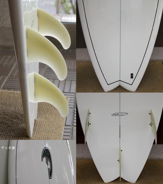 FADE  Speed Fish  中古ショートボード fin/tail bno9629223c
