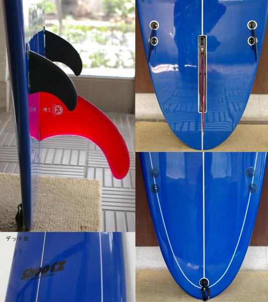 Shootz Noserider 中古ファンボード fin/tail bno9629246c