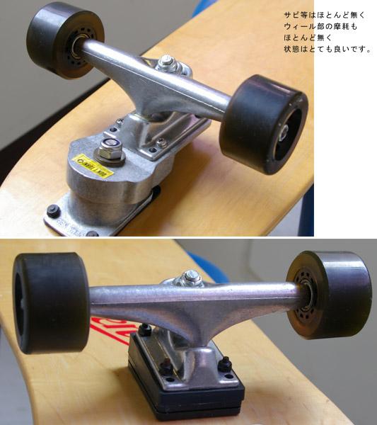 ロングスケートボード トラック/ウィール bno9629248c