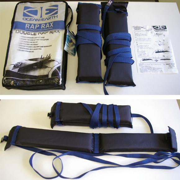 OCEAN & EARTH  DOUBLE RAP RAX  サーフボード用 中古ソフトキャリア 付属品 bno9629255b