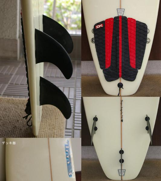 TM3 (WDTIL) 中古ショートボード fin/tail bno9629268c