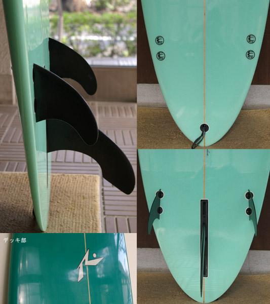 RUSTY 中古ファンボード fin/tail bno9629281c