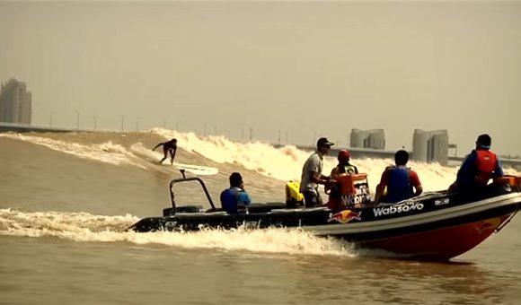 中国の潮津波「シルバー・ドラゴン」SILVER RIVER