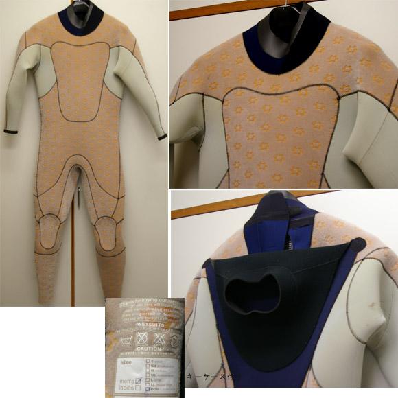 QUIKSILVER  セミドライ 中古ウェットスーツ detail bno9629298c