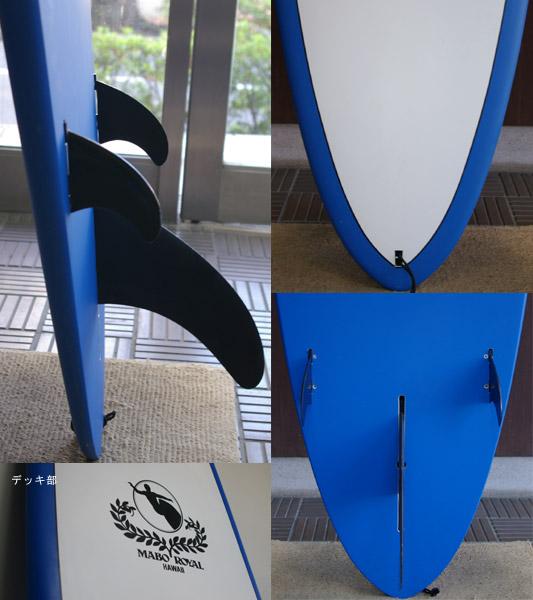 MABO ROYAL モールドタイプ ロングボード fin/tail bno9629305c