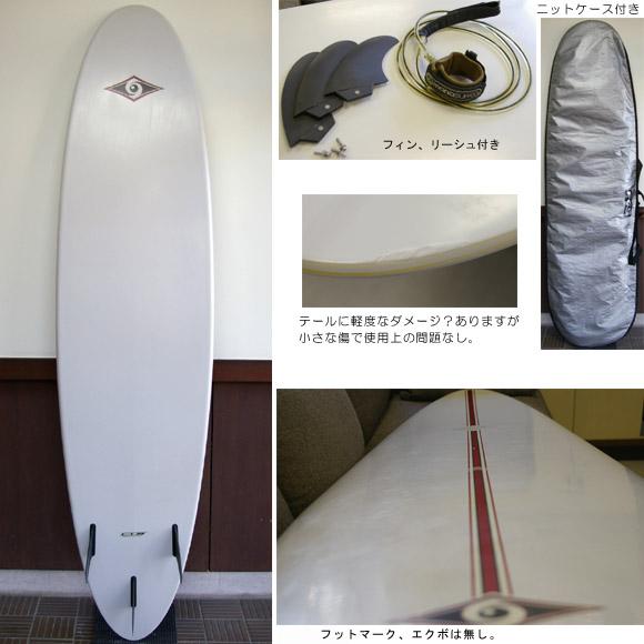 BIC SURF 中古ファンボード bottom bno9629308b