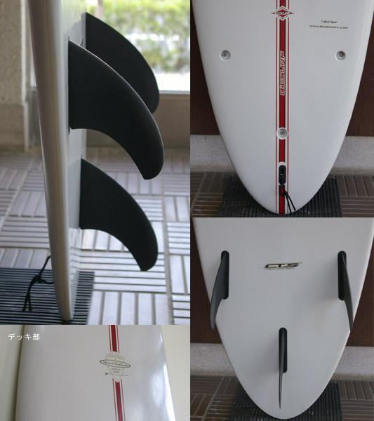 BIC SURF 中古ファンボード fin/tail bno9629308c