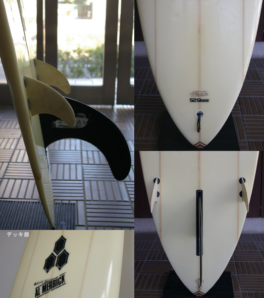 THE SURF AL MERRIC 中古ロングボード fin/tail bno9629334c