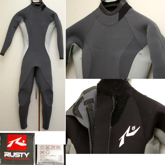 RUSTY 女性用フルスーツ 中古ウェットスーツ detail bno9629341c