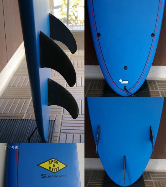 ZACK & KITTY (NO BRAND)  中古ファンボード fin/tail bno9629344c