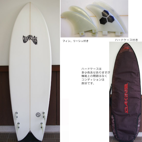 Channel Islands SKINNY FISH 中古ショートボード bottom bno9629379b
