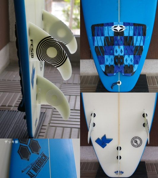 AL MERRIC K-BOARD 中古ショートボード fin/tail bno9629384c